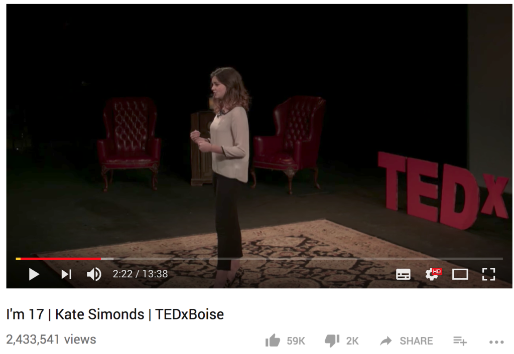 Kate Simonds TEDx