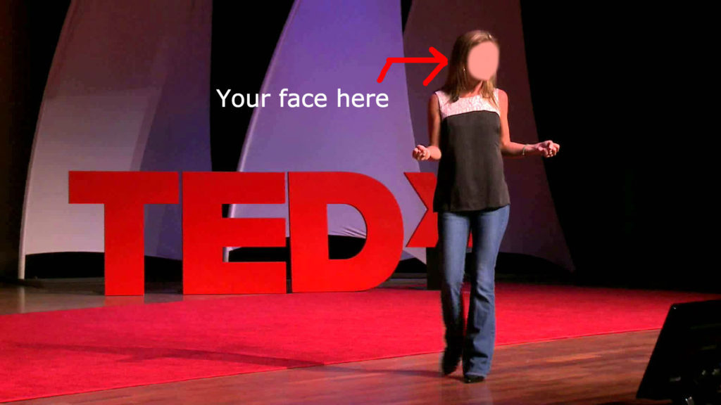 speak at TEDxWomen